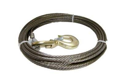 50 FT Cable With Swivel Hook