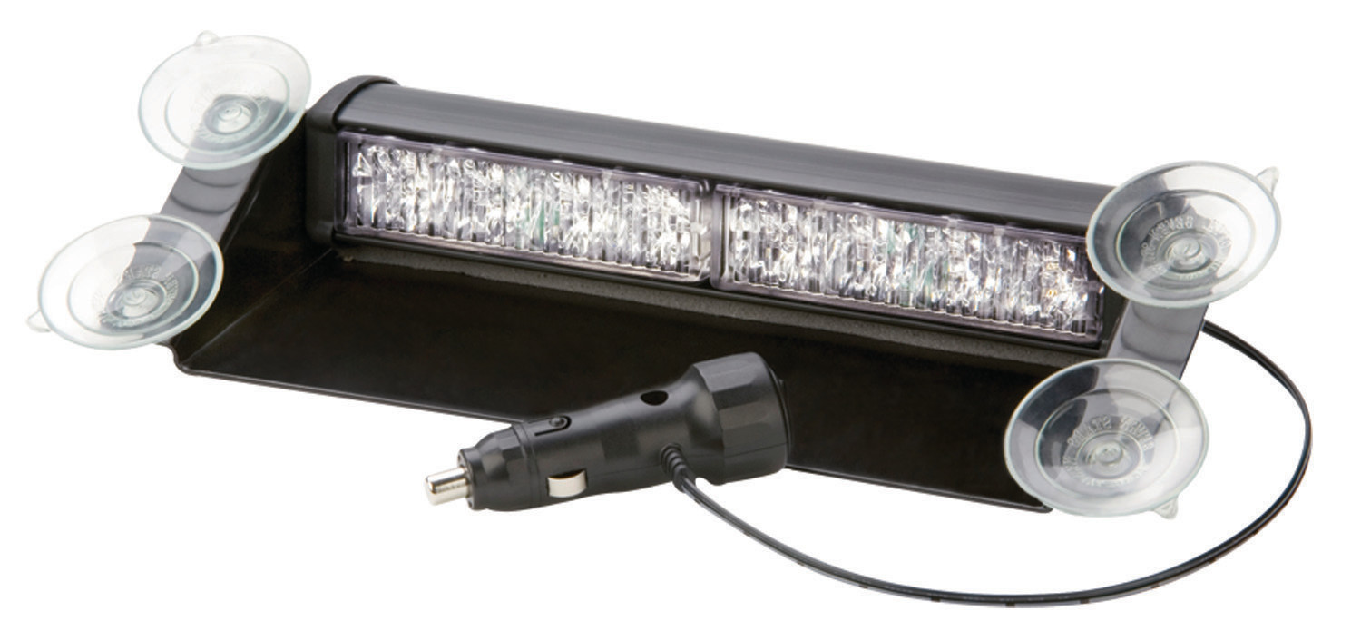Grille, Deck, Dash, or Window Mount Twin Amber/Amber Directional LED
