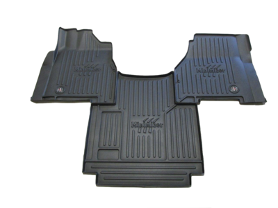 Heavy Duty Floor Mat Kit for Freightliner Coronado CC122 & CC132 (2010-2016); 122SD (2013-2016) (auto trans.)