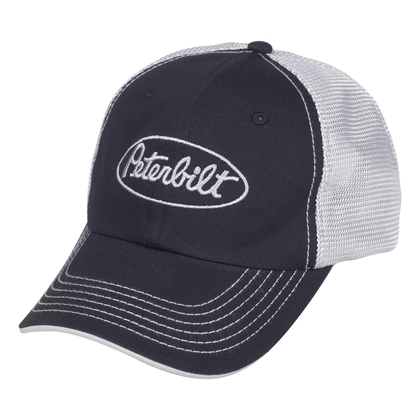 Peterbilt Mesh Back Cap Black