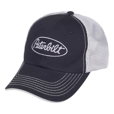 Peterbilt Mesh Back Cap Black
