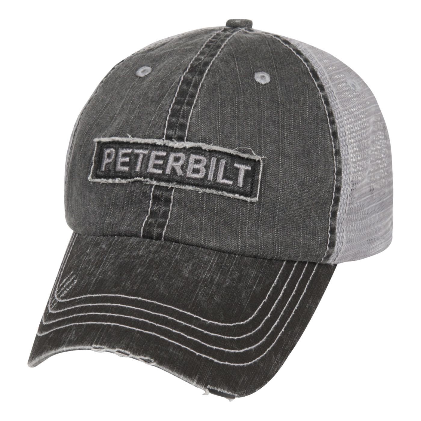 Peterbilt Raw Edge Patch Cap