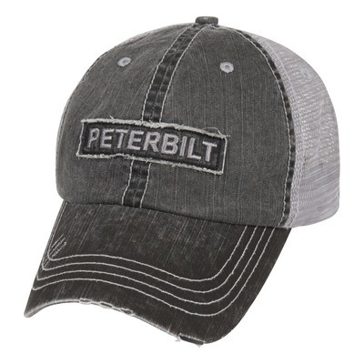 Peterbilt Raw Edge Patch Cap