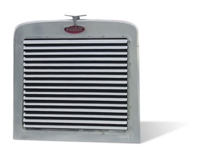 Louver Style Grille with 16 Bars for Peterbilt 359