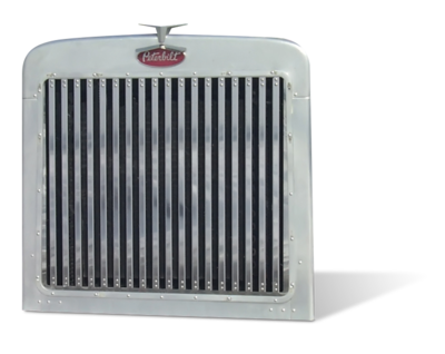 Grille with 18 Vertical Bars for Peterbilt 359