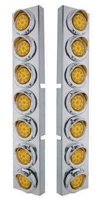Front Air Cleaner LED Light Panels for Kenworth