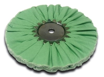 Airway Buffing Wheel Hall Green 8 Inch