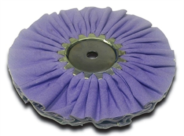 Airway Buffing Wheel Purple Lea Airway Cotton Mill Treat 10 Inch
