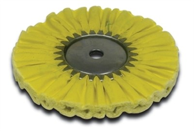 Airway Buffing Wheel Yellow 1 on 1, 8 Inch