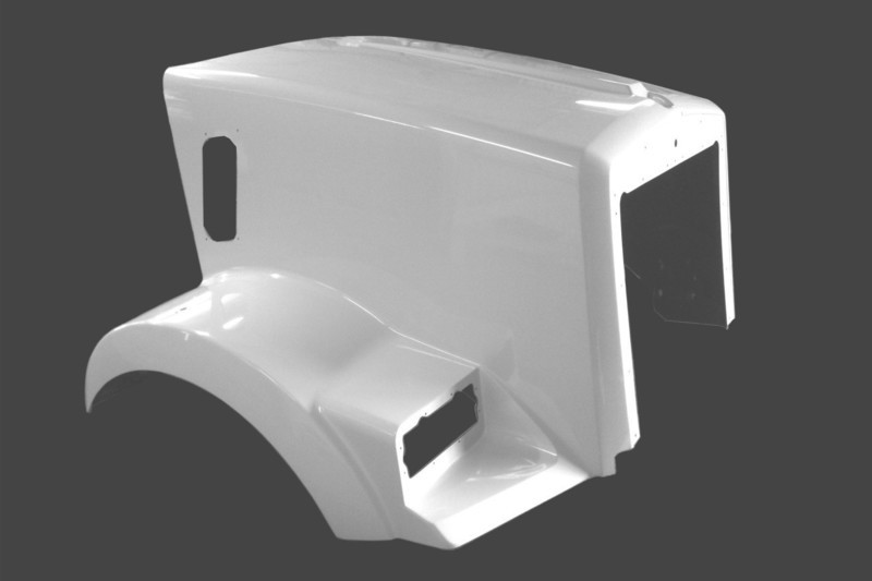 Replacement Hood for Kenworth T800 SH. Metton