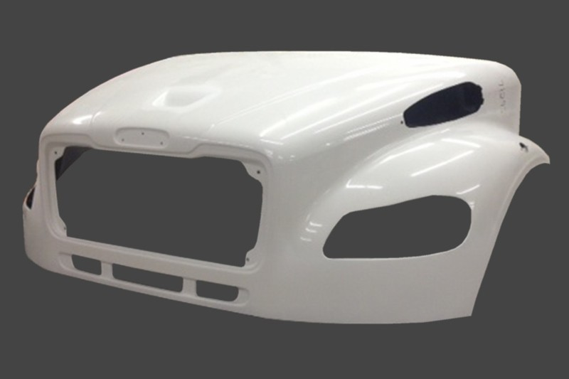 Hood without Bezel Option for Freightliner M2 W/Valence