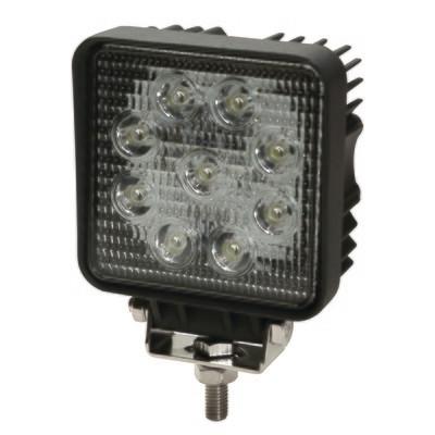 ECCO 9 LED Work Flood Lamp Light Square