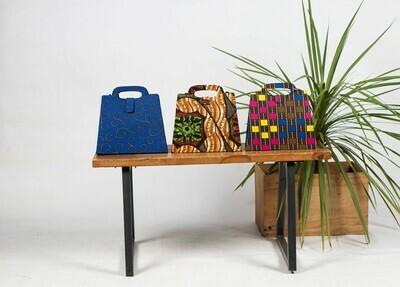 Print Rectangular Handbag