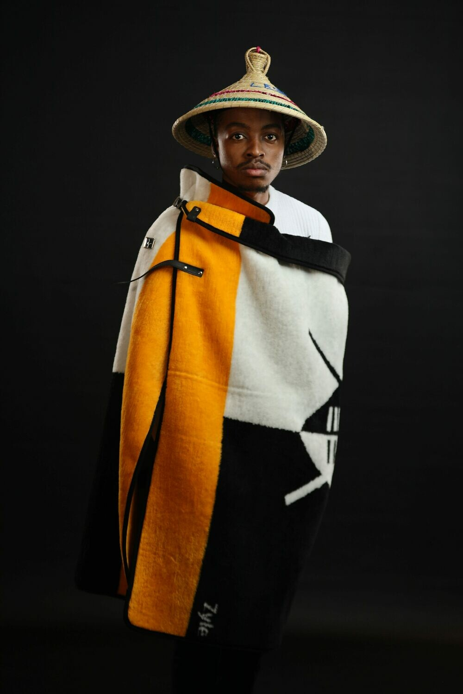 Yellow shield blanket