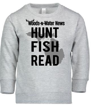 Toddler Crewneck Sweatshirt - Full front a Screen print
