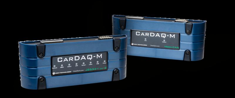 Drew Technologies Cardaq M Cardaq-M J2534 Reflash Tool Scan Tool and includes the Mega-CAN add on module.