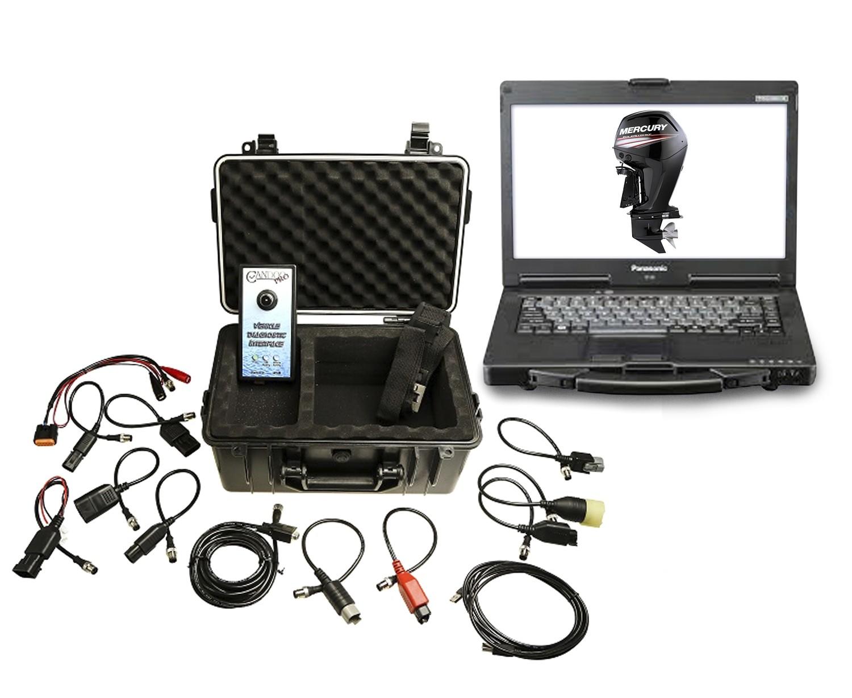 Marine Diagnostic Toughbook Dealer Tool Mercury, Evinrude, Johnson, Suzuki, Honda and Yamaha