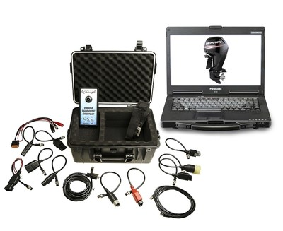 Marine Diagnostic Toughbook Dealer Tool Mercury, Evinrude, Johnson, Suzuki, Honda and Yamaha