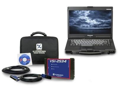 VSI J2534 Car Diagnostic Reprogrammer Scanner Toughbook Kit
