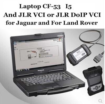 Jaguar Landrover JLR DoIP Factory Toughbook Diagnostic Dealer Kit