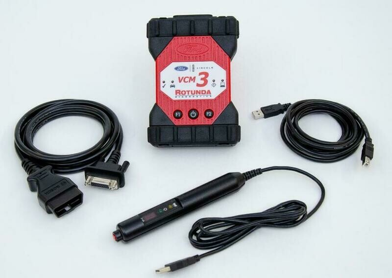 Ford VCM III Diagnostic Package with CFR Pendant.  Brand new VCM 3. 164-R9867