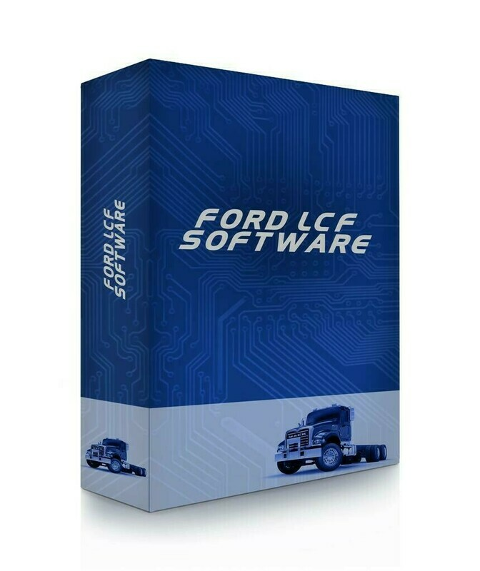 Ford (LCF) Low Cab Forward Dealer Diagnostic Software.