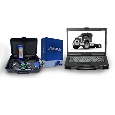Ford (LCF) Low Cab Forward Dealer Diagnostic Toughbook Kit