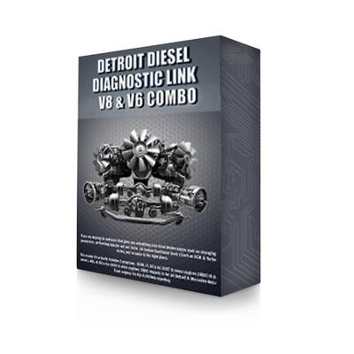 Detroit Diesel Diagnostic Link v8 & v6 Combo - 12 Month License