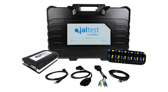 Jaltest V9 LinkDiagnostic Adapter Hardware Kit with Multi-Pin Set