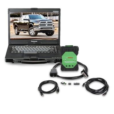 Bosch Mastertech II Mastertech 2 J2534 Toughbook Laptop Diagnostic Scanner Reflasher All Vehicles