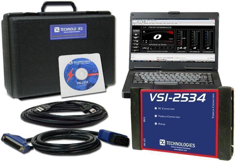 VSI-2534 Reprogramming and Diagnostics Kit DG Technologies J2534 Reflash ECU NEW