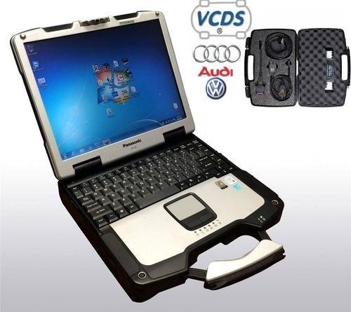 Volkswagen Audi Scanner Diagnostic Tool VCDS (VAG-COM Diagnostic System) Professional Kit  for VW/Audi Toughbook Package