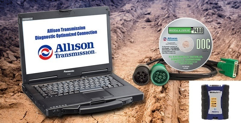 Allison TransmissionToughbook Nexiq Dealer Package