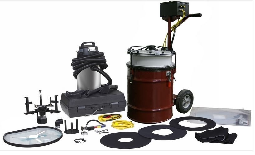 Portable DPF Diesel Particulate Filter Cleaning Machine