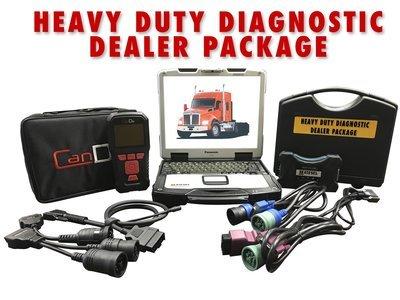 Universal Diesel Diagnostic Package CAT CUMMINs DETROIT  w/ DPF REGEN 124032 Drewtech