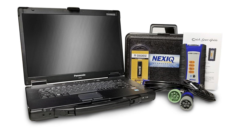 NexIQ Heavy Duty Truck Diagnostic Kit w/USB Link 2 and universal software.
