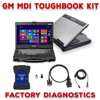GM MDI 2 Toughbook Dealer Package