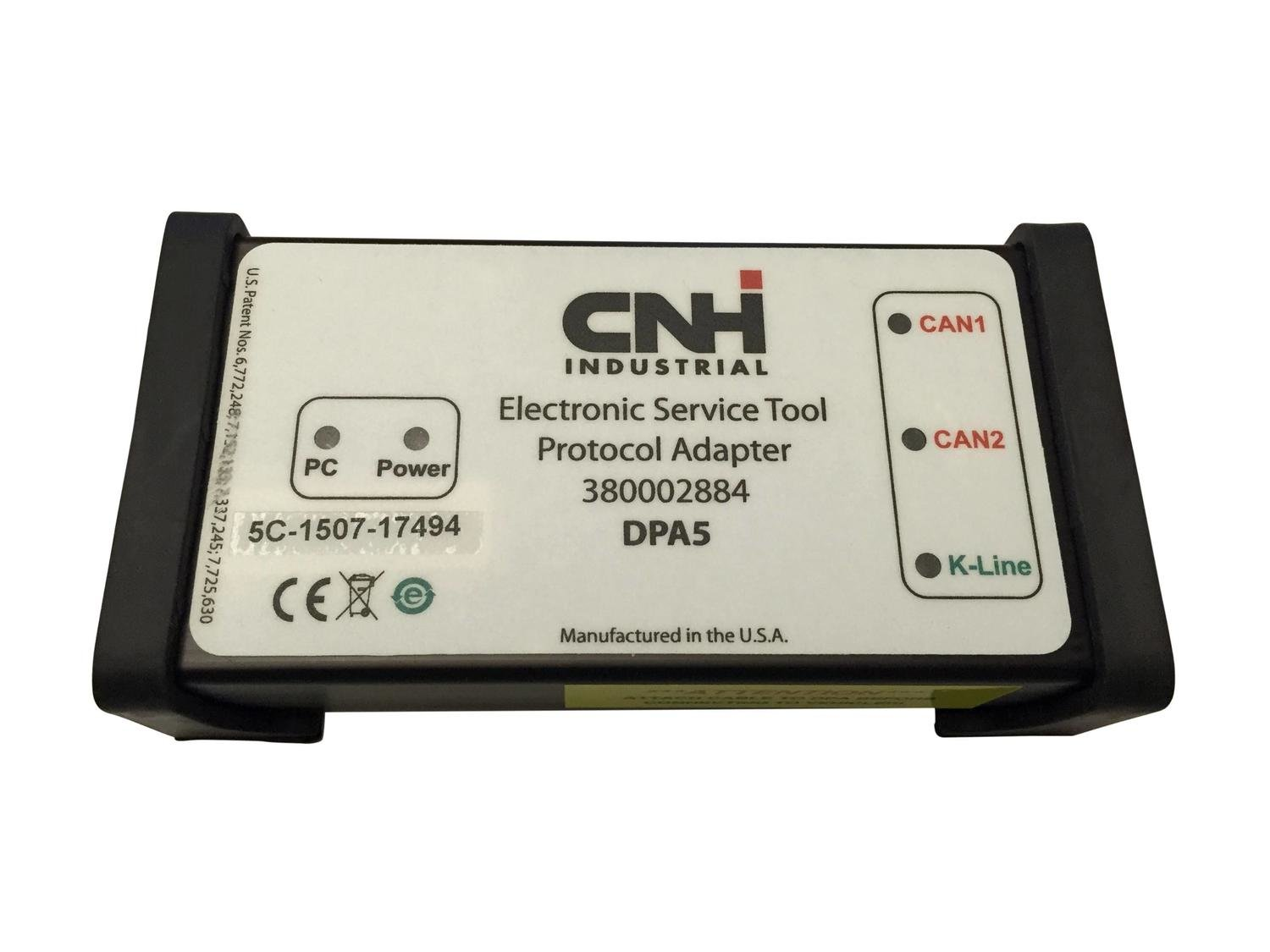 Case New Holland CNH Adapter DPA5 Electronic Service Tool Adapter Cable Kit 380002884-KIT CNH Adapter