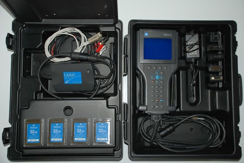 OEM Original GM TECH 2 Dealer Kit and Candi Module Software Cards