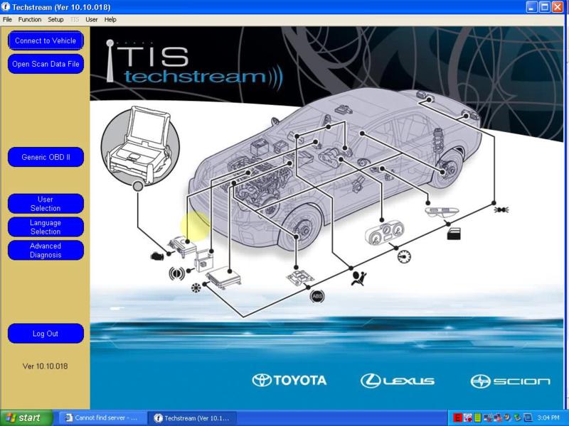 Toyota Tis to Web Programming Software ECM'S, PCM'S, Key Programming