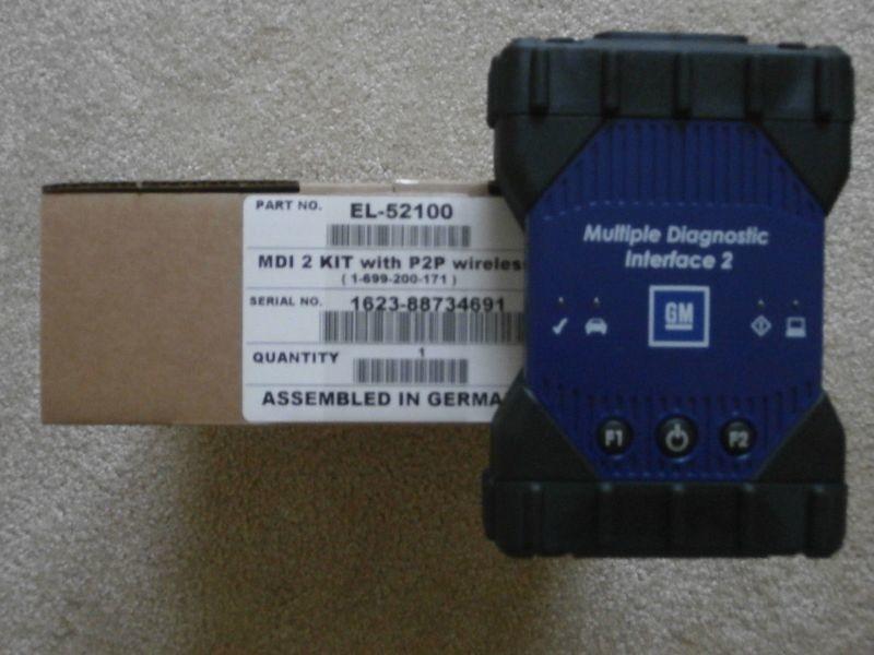 Bosch GM MDI 2 (2nd Gen) interface J2534 P2P Wi-Fi