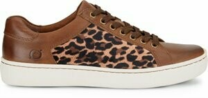 Born F69641 Sur Leopard Print Fabric Tennis shoe