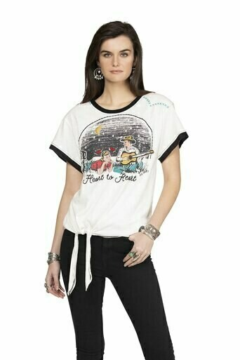 Double D Ranch T3289 Heart To Heart Top