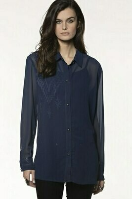 DD Ranch T3149 Grass Rope Blouse L/S