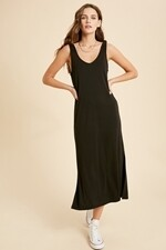 Wishlist WL19-3568 Dress Tie Shoulder Sleeveless