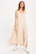 Wishlist WL19-3017 Dress Open Back Maxi Side Slits