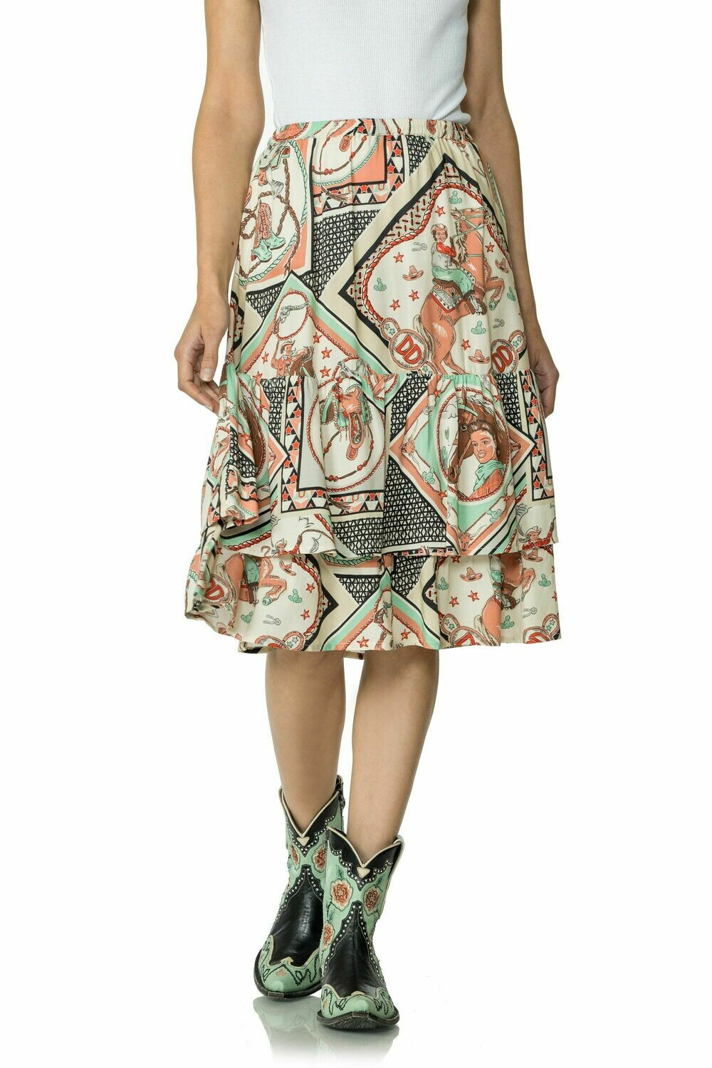 Double D S1724 Gayle Wild Rags Skirt