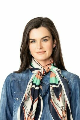 Double D FA888 Yee Haw Scarf  - Gayle