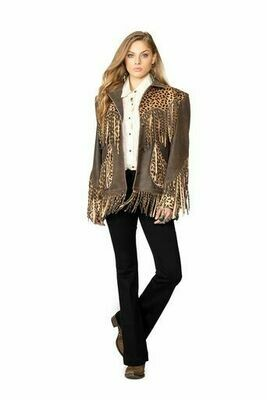 Double D Ranch C2715 Cheetah Chic Jacket