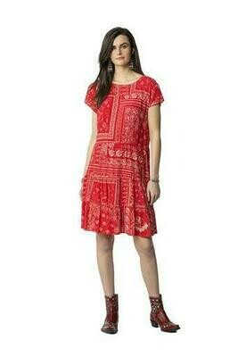 Double D D1274 Picnic Bandanna Dress